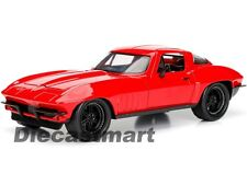 JADA 1:24 FAST AND FURIOUS LETTYS CHEVY CORVETTE RED DIECAST CAR MODEL 98298