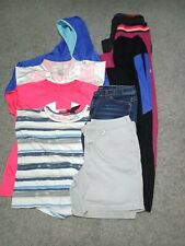 9 Piece Lot Of Girls Clothes Size 14/16
