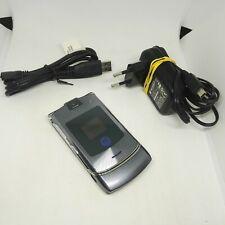 Motorola Razr V3i - Gray (Unlocked) Flip Basic Button Quad-Band Mobile Phone