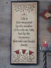 # Every Breath We Take Picture New, not used Vintage Home Interiors & Gifts