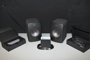 KEF LSX Wireless Music System - Black - Great Condition