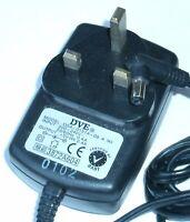 DVE DSA-0151A-05 A (K) AC/DC POWER SUPPLY ADAPTER 5V 2.4A UK PLUG