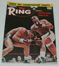 """MANTIQUES UK AUGUST-SEPTEMBER 1963 EDITION  """"THE RING""""  BOXING MAGAZINE"""