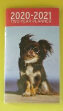2020-21 Dog Planner 2 Year Yr Pocket Calendar Monthly Small-see store for others