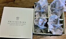 New listing Pottery Barn set of 4 Shell Tablecloth alumina weights - New