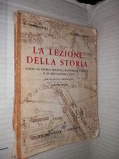 LA LEZIONE DELLA STORIA Vol 1 DALLA CADUTA IMPERO ROMANO ALLA CADUTA NAPOLEONE
