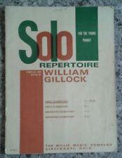 Solo Repertoire For The Young Pianist William Gillock E Elementary Piano Book