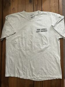 Vintage Rollins Band Search and Destroy Part Animal Part Machine Grey Shirt XL