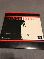 SCARFACE Laserdisc - LetterBoxed Edition Extended Play