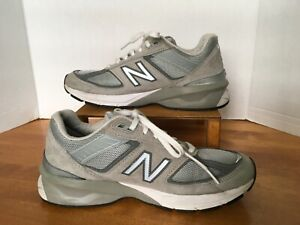 New Balance Women Shoes Running Crossfit Gym 990V5. Grey. Size 9B