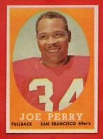 1958 Topps #93 Joe Perry NEAR MINT/MINT+ San Francisco 49ers FREE SHIPPING