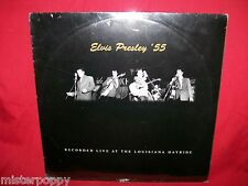ELVIS PRESLEY '55 Recorded live at the Louisiana Hayride LP 2008 ITALY SEALED