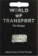 Old London Bus Lapel Pin Badge