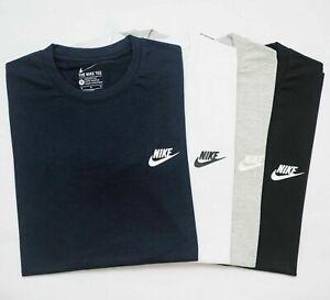 Nike Crew Neck Short Sleeve Mens Sports Top T-Shirt-sale uk