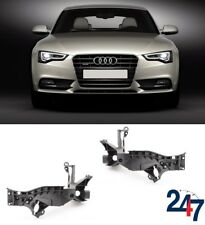 NEW AUDI A5 S5 2012 - 2016 FRONT HEADLIGHT BRACKET HOLDERS LEFT RIGHT PAIR SET