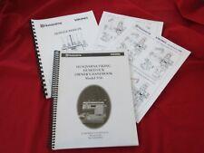 Husqvarna Viking Huskylock 936 User Guide and Service Manual Cover stitch conver