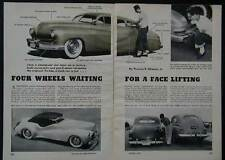 Barris Brothers Valley Custom Car Shop 1953 pictorial