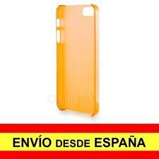 Funda Carcasa Naranja Ultrafina para Iphone 5 / 5S a1087