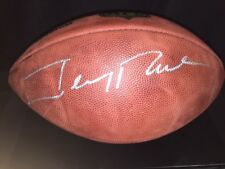 "JERRY RICE Signed Official NFL ""The Duke"" Official Football JSA Authentic 49ers"