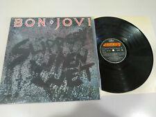 "Bon Jovi Slipperi When Wet 1986 LP Vinilo 12"" Spain Edition First Press - VG/VG"