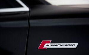 OEM Audi S Line Supercharged Badge Emblem A1 A3 A4 A5 A6 A7 A8 Q3 Q5 Q7 TT RS