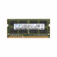 4GB PC3 10600S DDR3 SDRAM 1333MHz 204Pin CL9 SODIMM LAPTOP Memory for Samsung RL
