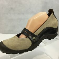 Merrell Plaza Bandeau Wedge Sz 11 Mary Jane Shoes Taupe Brown J46404 Walking