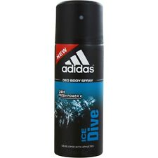 Adidas Ice Dive by Adidas 24H Deodorant Body Spray 5 oz Developed With Athletes
