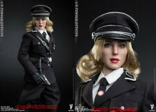 VERYCOOL VCF-2036 Female Officer Black Suit 1/6 Action Figure Model Toys INSTOCK