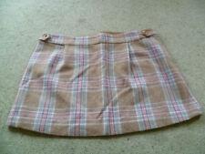 Joules Checked Short/Mini Skirts for Women