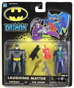 Batman Laughing Matter Batman & Joker Figures MOC 2002 Hasbro