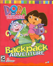 NEW Dora the Explorer: Backpack Adventure MAC or PC Game - Free Shipping !