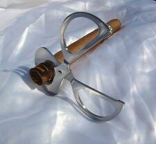 Tagliasigari in acciaio a forma di forbice lama potente e affilata taglio sigari