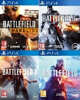 Battlefield PS4 Assorted Buy 1 OR Bundle Up Playstation 4 MINT Super Fast DEL
