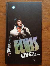 Elvis Presley 4CD Longbox  Live in Las Vegas   (2001) Collectors Edition