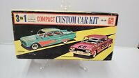 Vintage AMT 3 in 1 Compact Custom Car Kit 1/25 Scale 1960 Corvair BOX ONLY