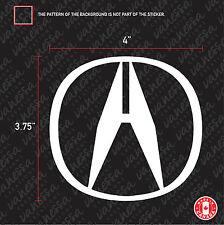 2X ACURA LOGO sticker vinyl decal