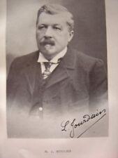 Portrait Phototypie de Louis Jules HOULIER Né à Tôtes Notaire à Valmont