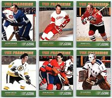 2012-13 SCORE FRANCHISE ORIGINAL SIX 6 Hockey Card Insert Set Lot Super Rare BV