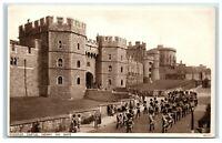 Picture Postcard Windsor Castle Henry VIII Gate Berkshire