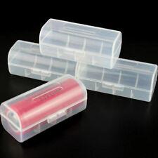 Portable mini plastic battery travels cases holder storage box for 26650 batteNT