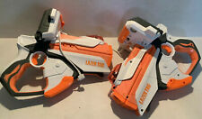 Hasbro 2012 Lazer Tag Guns for iPhone or iPod Touch Lot of 2 Guns Tested