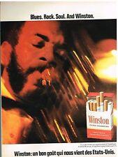 Publicité Advertising 1972 Les Cigarettes Winston