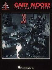 Gary Moore ancora la BLUES GIOCO TEXAS Strut ROCK CHITARRA scheda Libro di musica