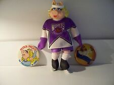 MISS PIGGY NHL PLUSH DOLL AND BUTTONS