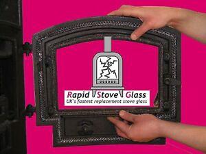 HUNTER HERALD 4 (OLD) REPLACEEMNT STOVE GLASS HIGH TEMP