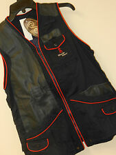 NWT She Safari RHODE GOLD VEST Shooting boyt shotgun Trap Skeet Leather Womens M