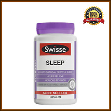 Swisse Sleep Tablets Ultiboost Sleep Relax 100 Tablets