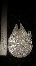 Millennium Falcon Chrome Door Knocker, Star Wars, Han Solo, Jedi, Chewbacca
