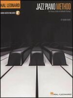Hal Leonard Jazz Piano Method Sheet Music Book with Audio Learn How To Play